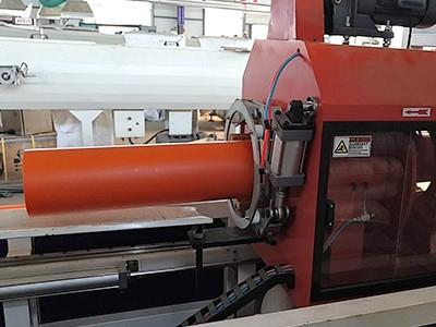 MPP电力电缆保护管生产现场