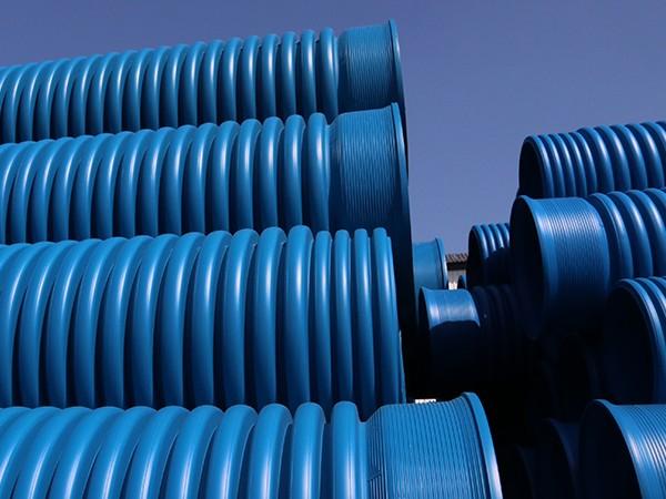 全性能蓝色双壁波纹管